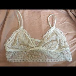 a9d4e7e5324d8 Victoria s Secret Intimates   Sleepwear - Gorgeous VS bralette white lace  longline